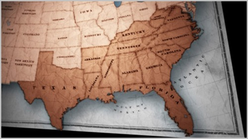 map of states practicing slavery by another name