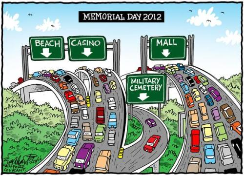 MEMORIAL DAY CARTOON