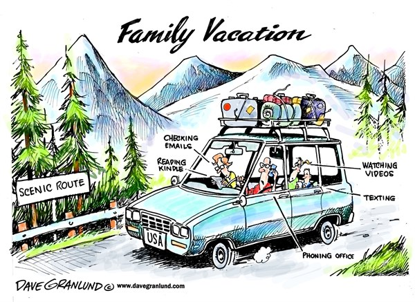 Cartoon of the day family vacation beautiful also are for Day trip to nyc with kids