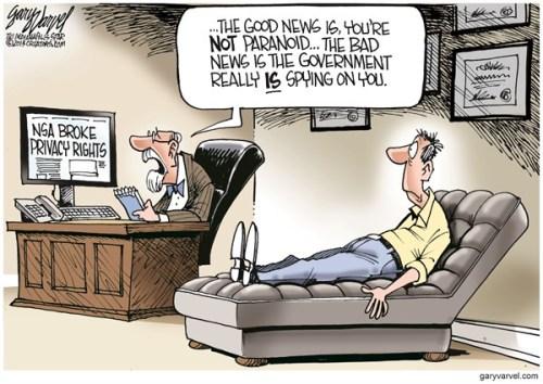 NSA PRIVACY RIGHTS