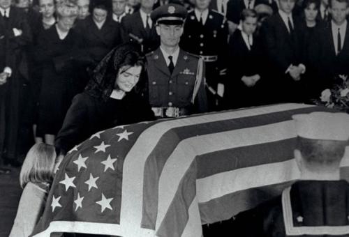jackie at jfk's funeral