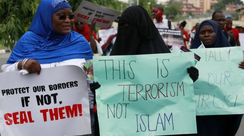 BOKO HARAM GIRL KIDNAPPING PROTEST
