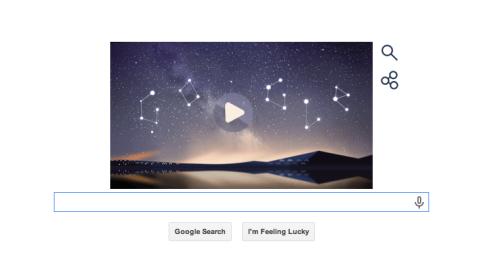 google doodle perseids 2014