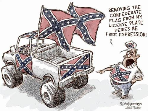 nick anderson confederate flag cartoon